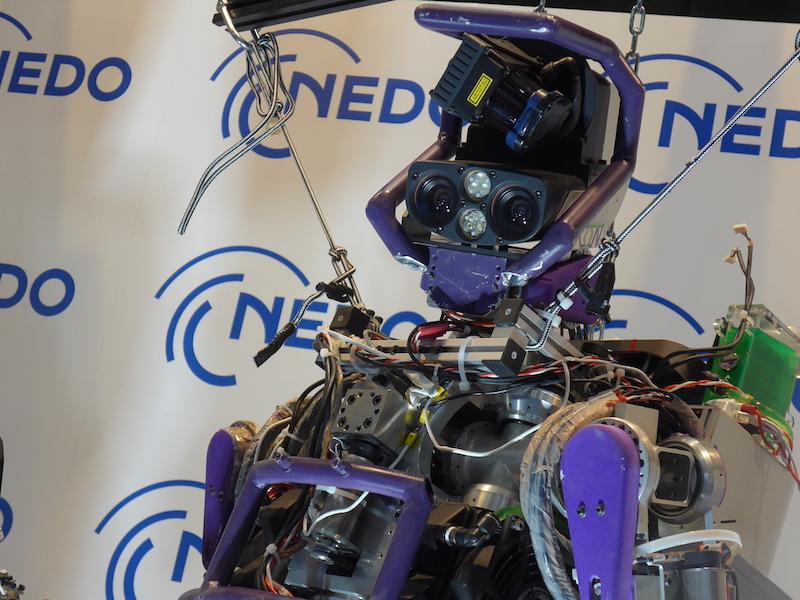 災害対応ヒューマノイドロボット「JAXON」