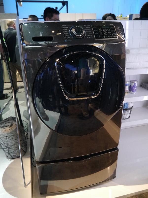 高級感を打ち出した洗濯機の新製品を今年春にも投入する