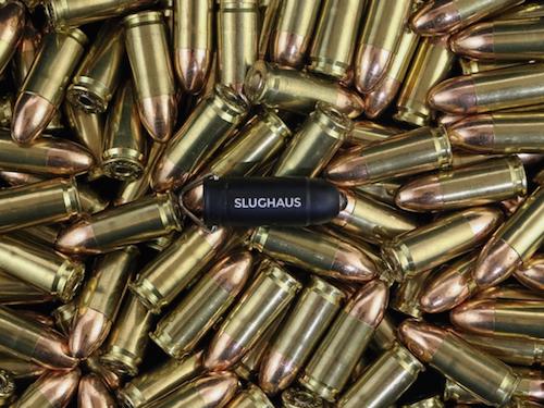 デザインや大きさは、9mm弾にインスパイアされたという