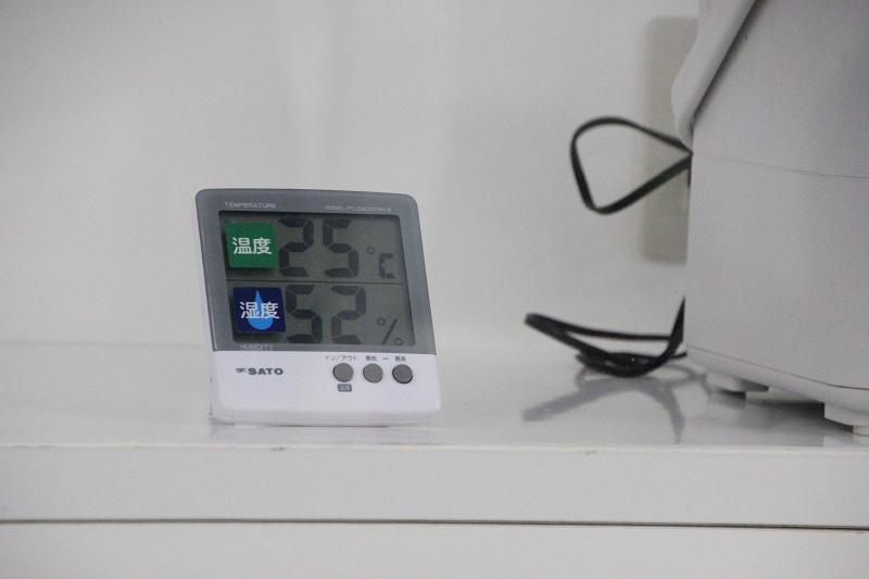 冷やしすぎず、湿度をコントロールする