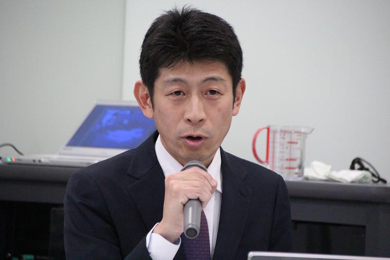 IHクッキングヒーター専門委員会 森本委員長