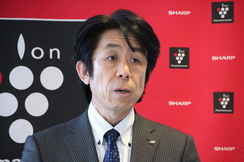 シャープ 健康・環境システム事業本部 空調・PCI事業部 冨田 昌志氏