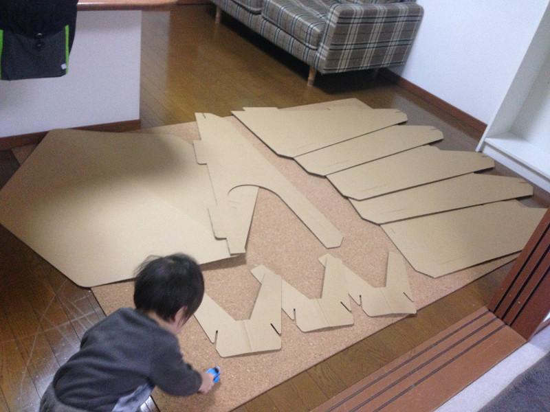 制作途中に子どもが触っても安心