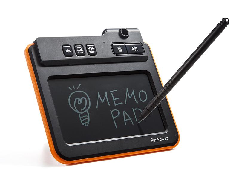 電子メモパッド「400-TBL002」