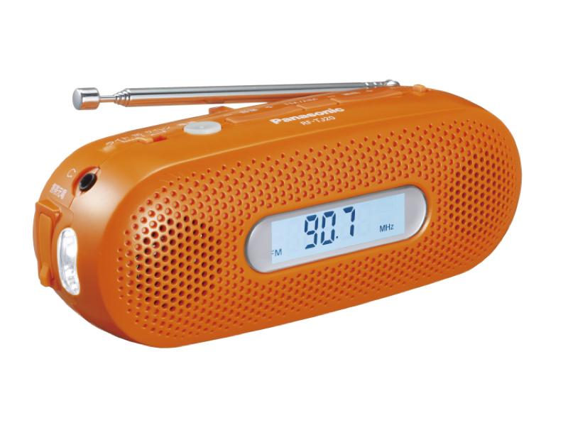 手回し充電ラジオ「RF-TJ20」