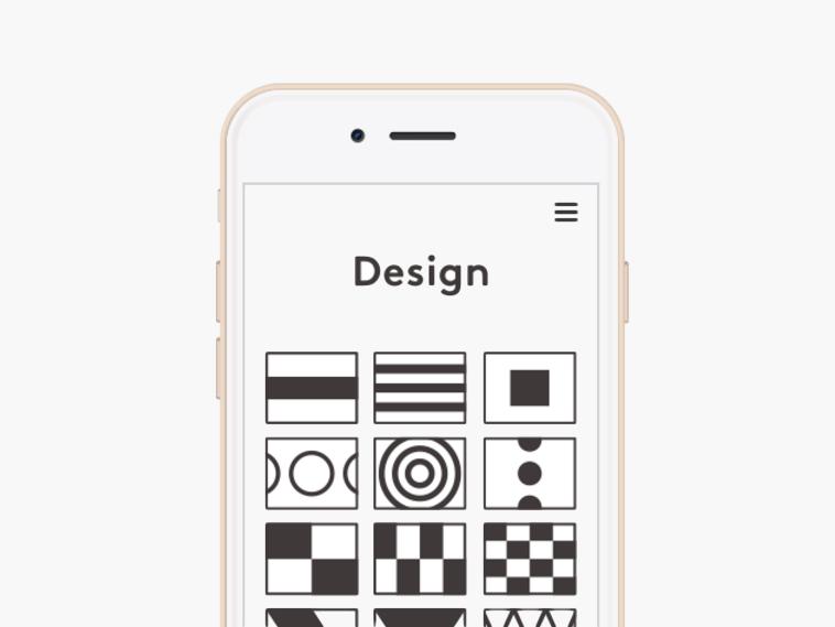 あらかじめ専用アプリに用意された図柄から選んで、お皿のデザインを変更可能