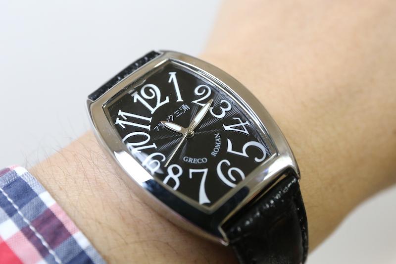 洒落者ではなく、シャレ、ネタとしての腕時計。身につけて評価が上がるか下がるかはあなた次第です