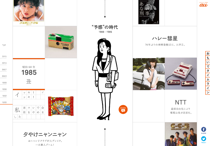 @@link http://time-space.kddi.com/omoide/index.php?id=topic-1985 「おもいでタイムライン」の1985年へ n@@