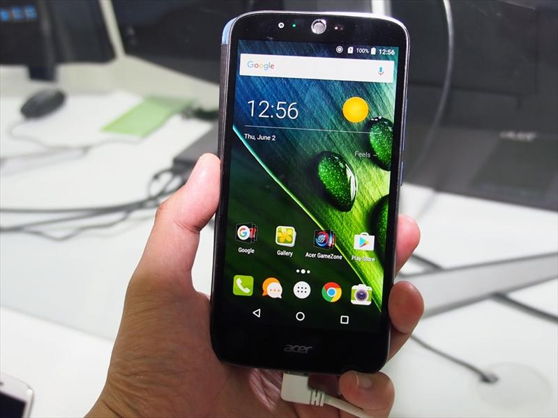 AcerのAndroid搭載スマートフォン「Liquid Zest Plus」