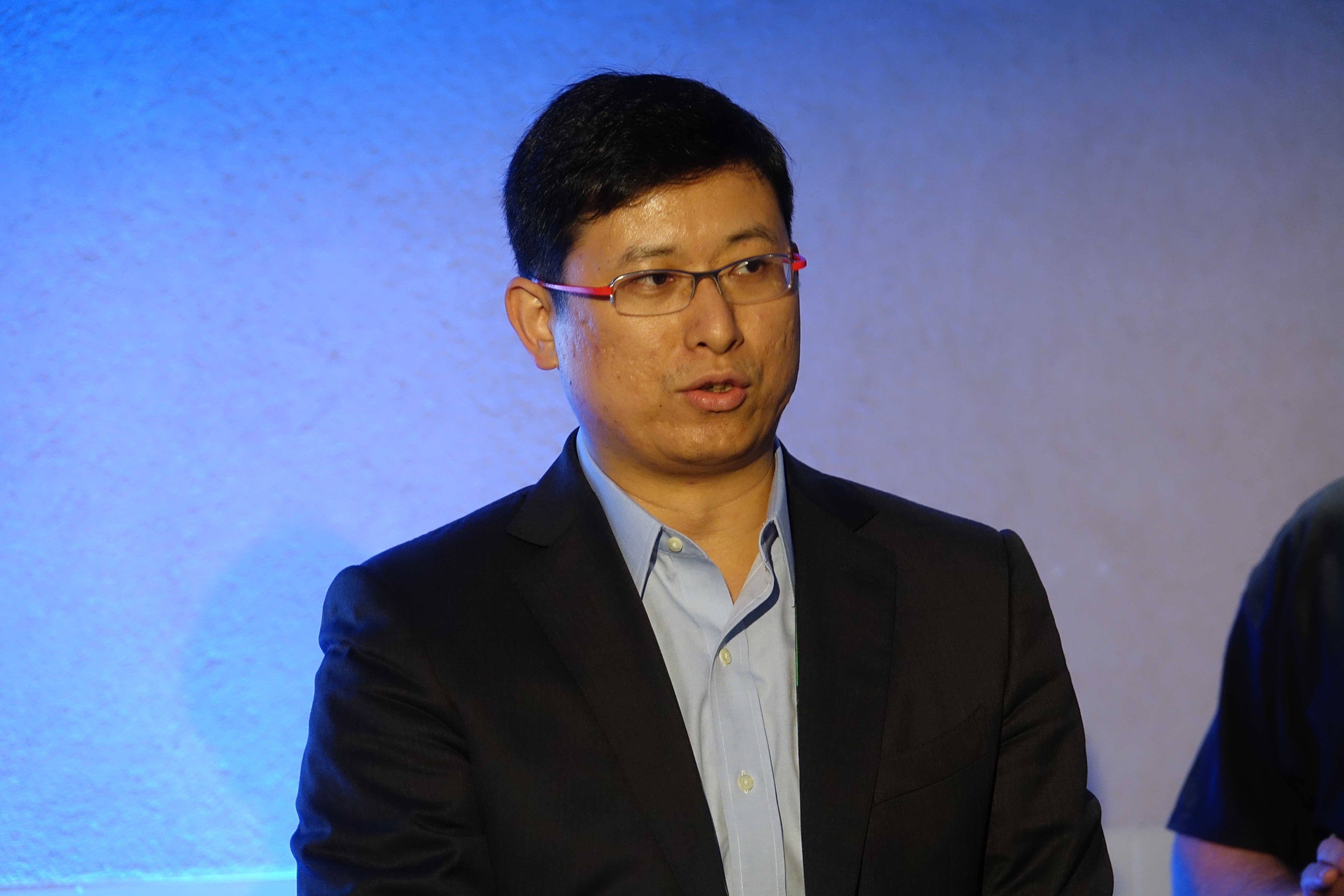 レノボ アジアパシフィック スマートフォンビジネス担当バイスプレジデントのDillon Ye氏