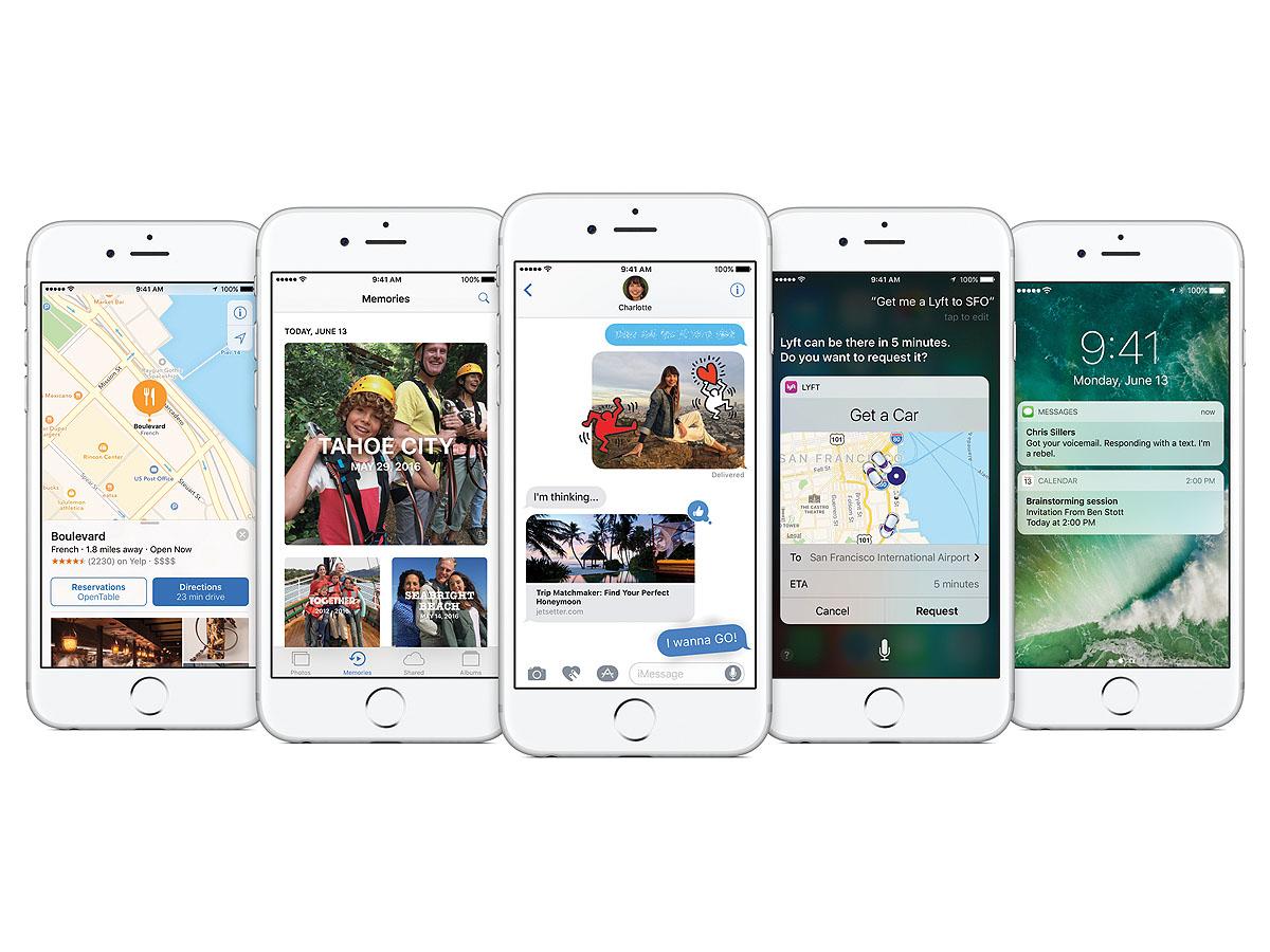 iOS 10が発表された