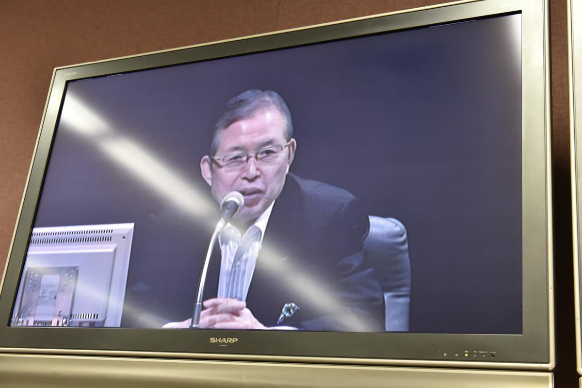 社外取締役の永守重信氏