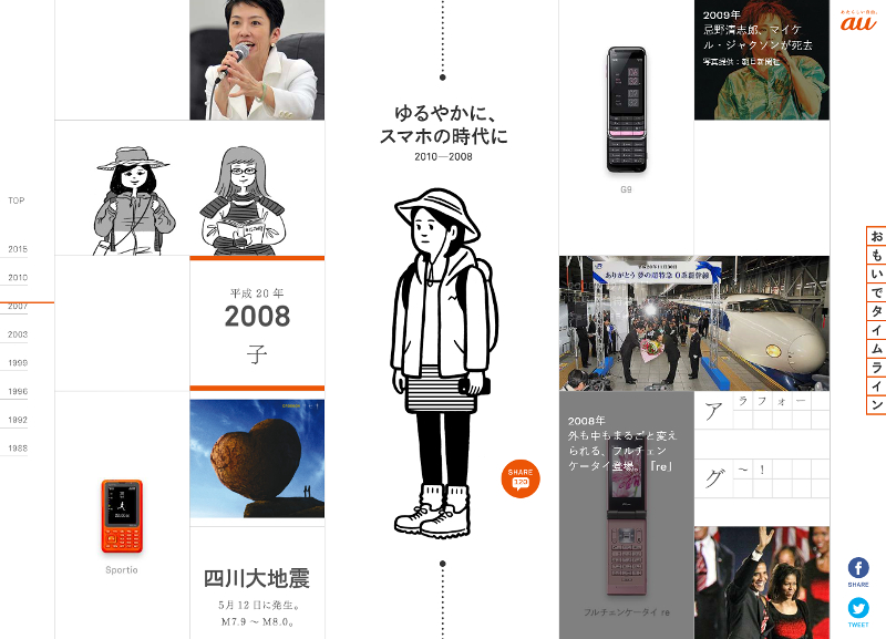 """<a href=""""http://time-space.kddi.com/omoide/index.php?id=topic-2008"""" class=""""n"""" target=""""_blank"""">「おもいでタイムライン」の2008年へ</a>"""