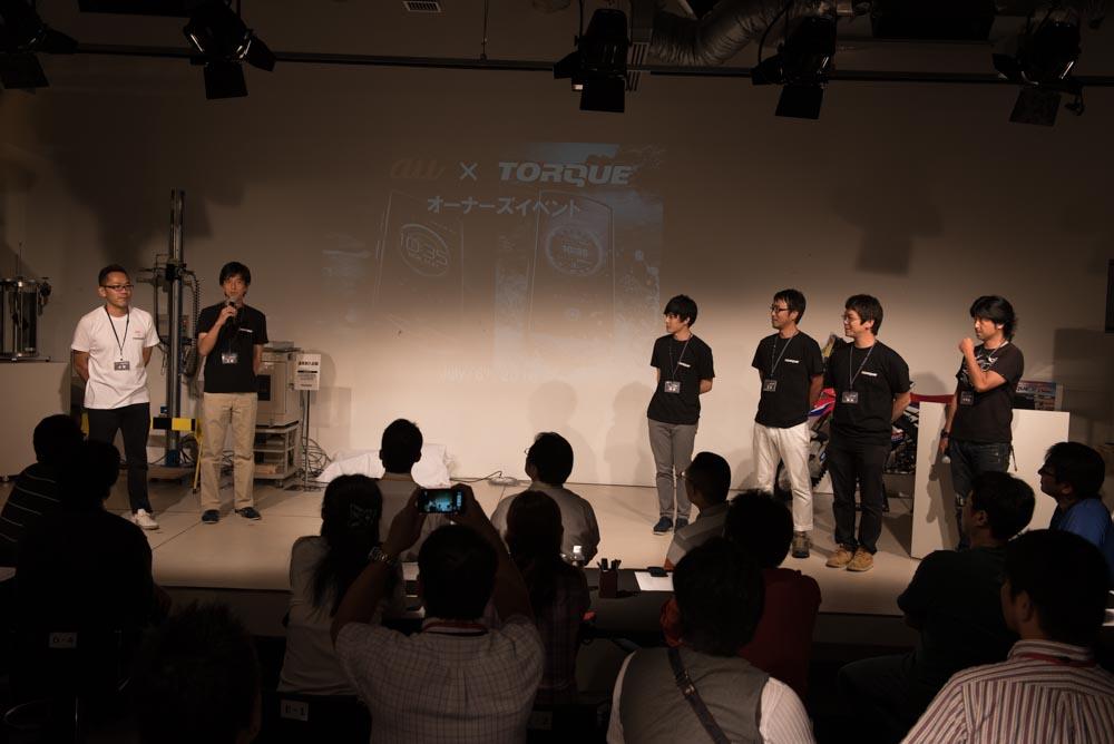 プレゼンテーションのステージ