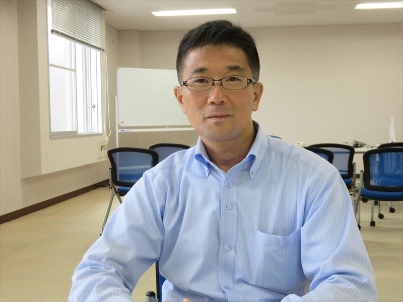 ドコモ・バイクシェア 代表取締役社長の坪谷寿一氏