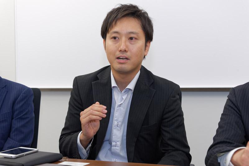 富士通コネクテッドテクノロジーズ マーケティング・営業本部の吉澤光喜氏