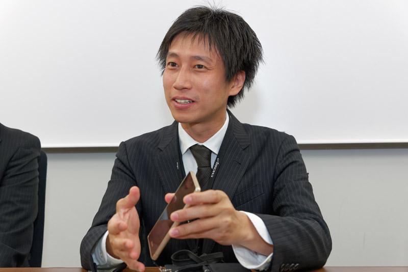 富士通コネクテッドテクノロジーズ 開発本部の石川雅士氏