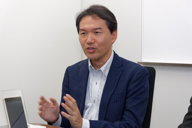 富士通コネクテッドテクノロジーズ マーケティング・営業本部 マーケティング統括部 第二商品企画部 シニアマネージャーの影長宜賢氏