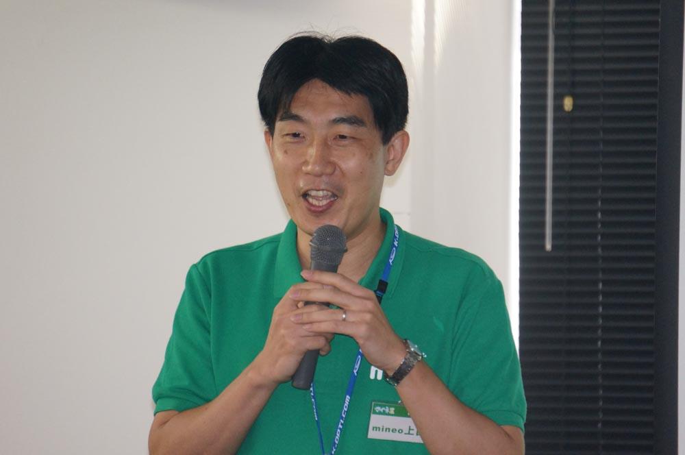 ケイ・オプティコムの上田氏