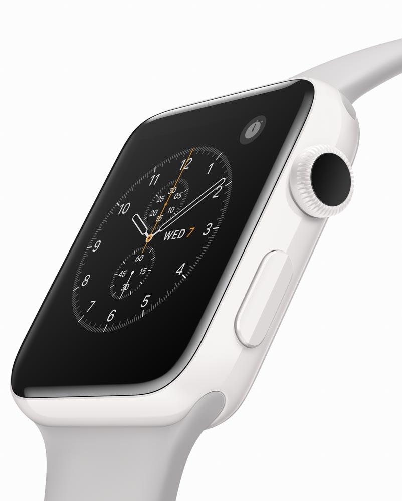 セラミックケースのApple Watch Edition