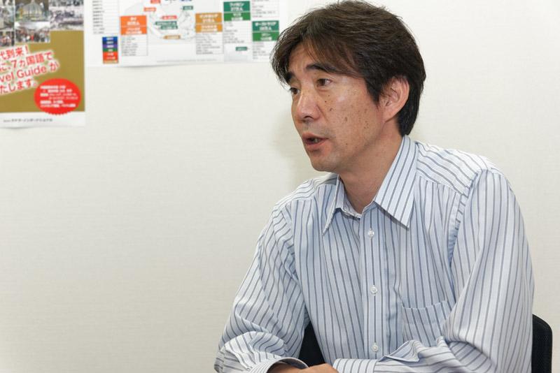 株式会社ラテラ・インターナショナル 取締役 開発部長 笠間三智郎氏