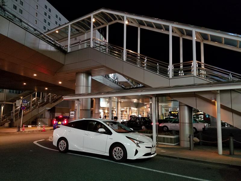 スタート地点は豊橋駅前ロータリー