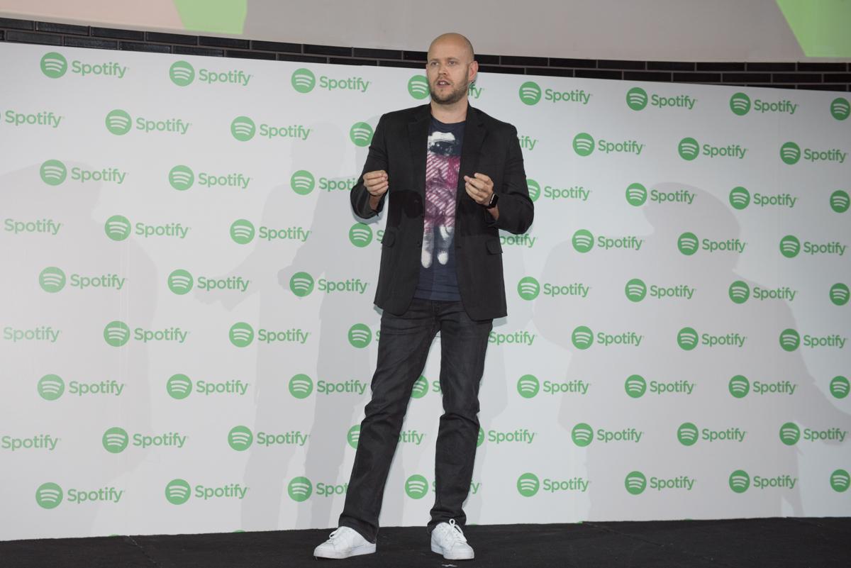 Spotify CEOで創設者のダニエル・エク氏