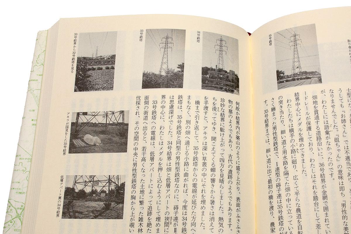 銀林みのる著『鉄塔武蔵野線』。1994年12月に単行本化されたファンタジー作品ですが、実在する鉄塔ともリンクしていて、少年の冒険ドキュメントのようにも楽しめました。映画化もされ、1997年6月に公開されたそうです。小説の主人公である環見晴役は、少年期の伊藤淳史さんが演じています。