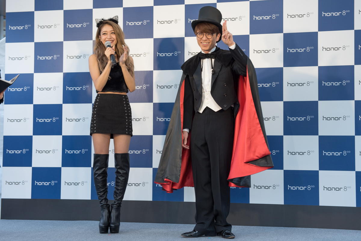 ファッションモデルの池田美優とオリエンタルラジオの藤森慎吾