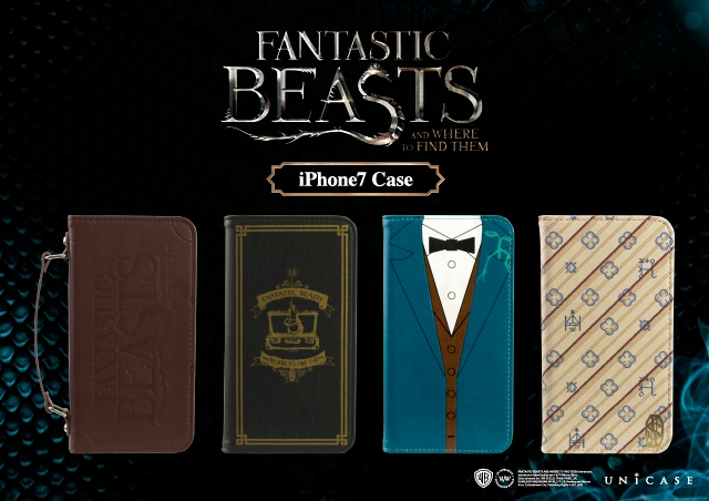 「FANTASTIC BEASTS AND WHERE TO FIND THEM for iPhone7 case」