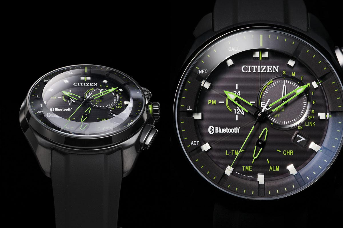 ゲンブツはかなり重厚感のあるアナログ文字盤の腕時計です。作りも超キレイ。シチズンは部品ひとつから自社生産できるスーパー本格派時計メーカーなので、こういう作りの良さや高級感はサスガ。カラーやバンドのバリエーションも増やして欲しい感じです。