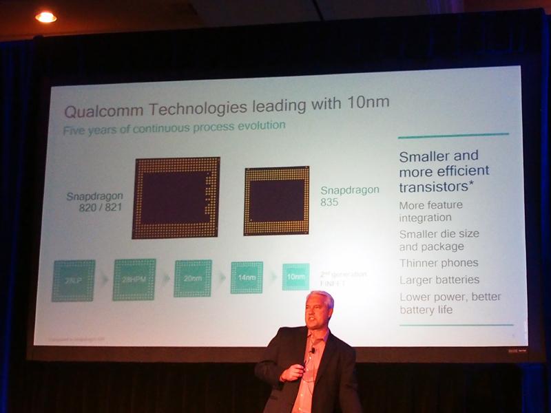 モバイル向けチップセットとして初となる10nmプロセス
