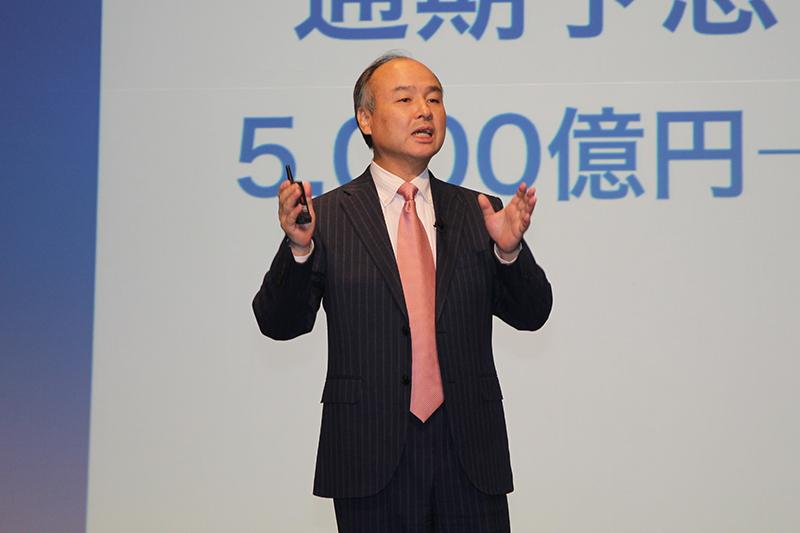 ソフトバンクグループ代表取締役社長 孫正義氏