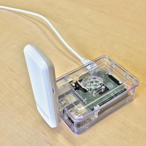 Raspberry Piでの利用イメージ