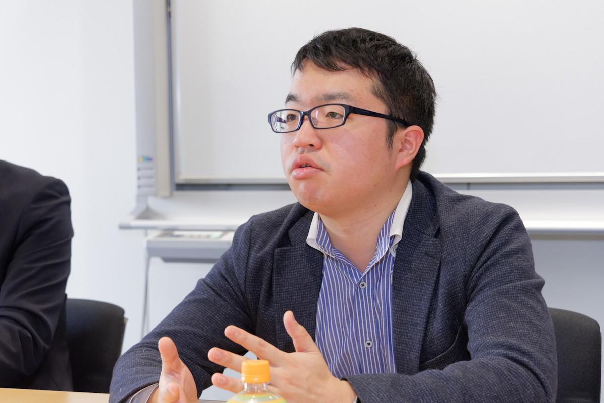 キッズケータイの企画を担当した富士通コネクテッドテクノロジーズの森田博典氏