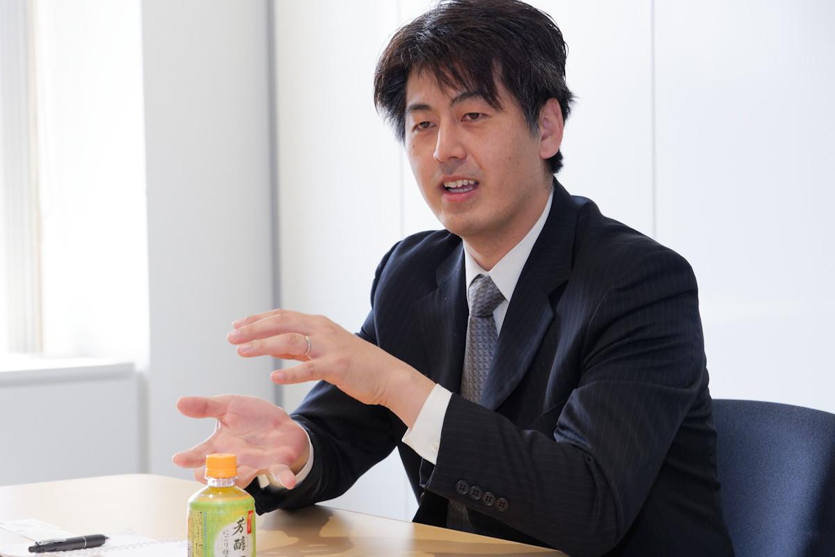 キッズケータイの開発を担当した富士通コネクテッドテクノロジーズの松本晃一氏