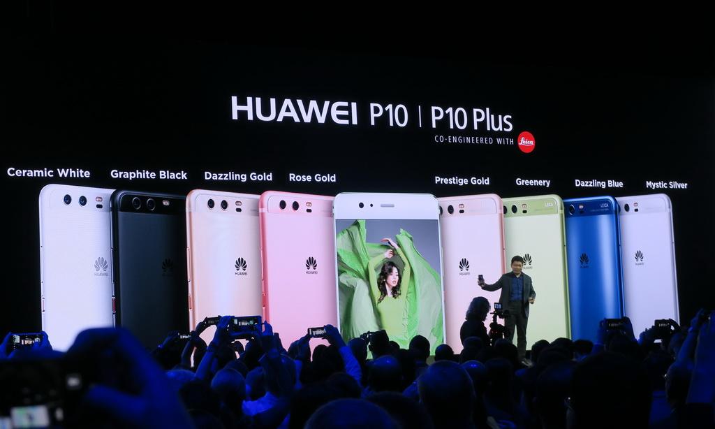 豊富なカラーバリエーションを揃えたHuawei P10/P10 Plus