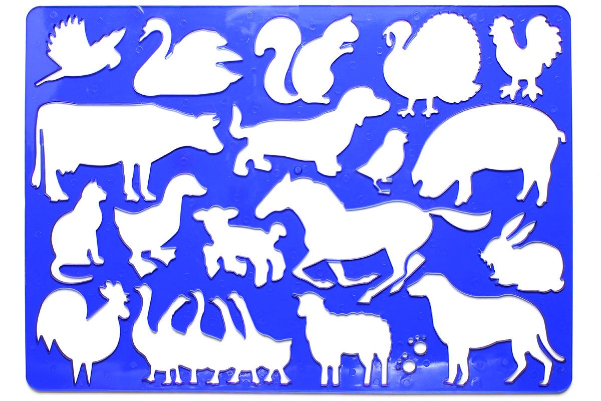 コヒノールの動物テンプレートシリーズで、左が「FARM」、右が「OCEAN」です。いろいろな生物のテンプレートです。