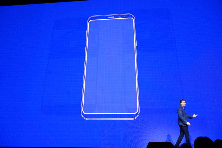 Galaxy S8シリーズのデザイン