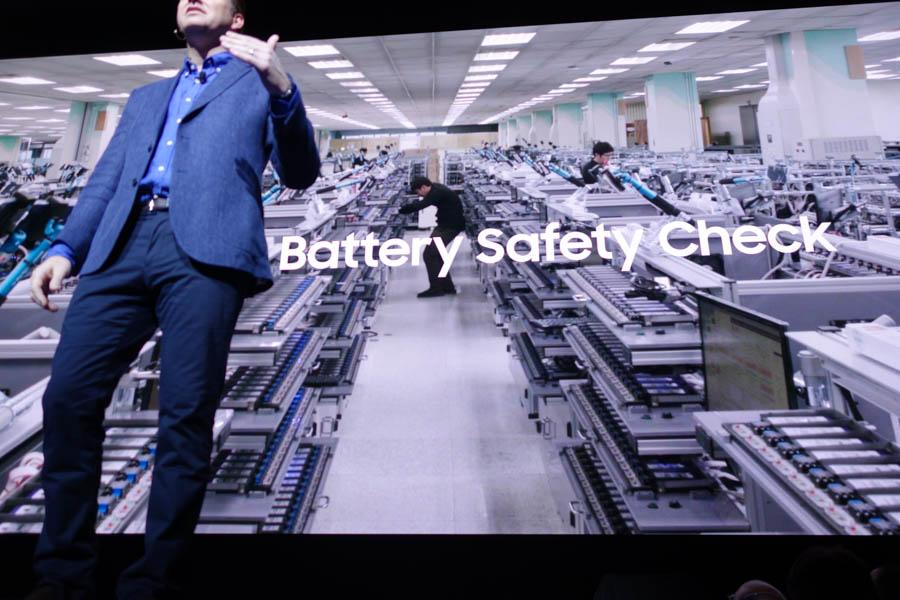 バッテリーの安全確認
