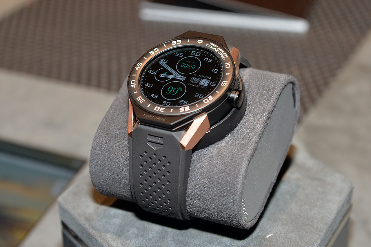 「TAG Heuer Connected Modular 45」