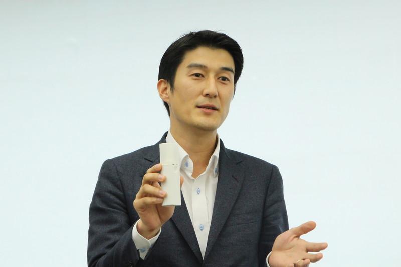 代表取締役社長兼CEO 佐竹晃太氏