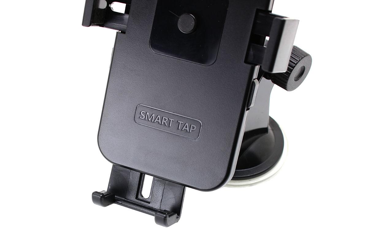 ホルダー部分は自由に回転でき、回転部の締め付けをリングで調節できます。ホルダー下部の端末脱落防止の押さえ部分は、若干の左右移動および長さ調節に対応。