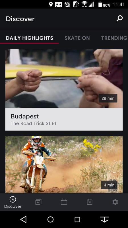 豊富なスポーツ映像をいつでも見られる「Red Bull TV」