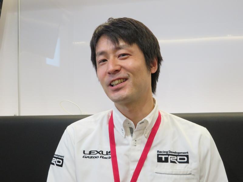 トヨタテクノクラフト TRD開発部 MS車両開発室 第1シャシグループ グループ長の清水信太郎氏