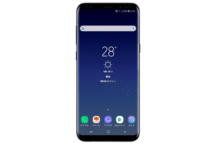 Galaxy S8+ SCV35