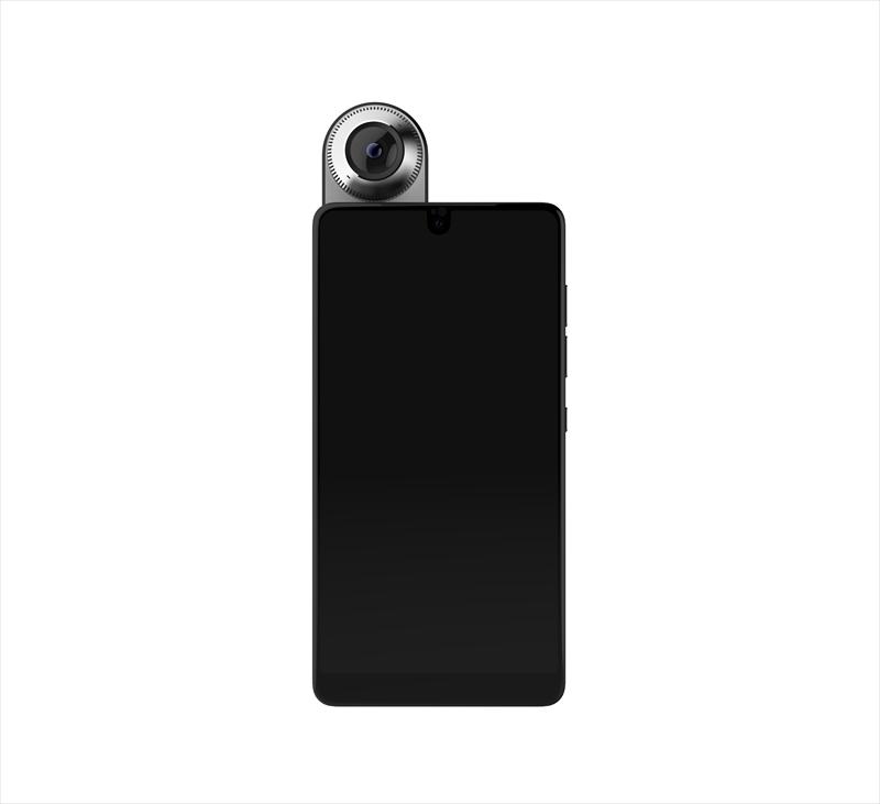 「Essential Phone + 360カメラ」