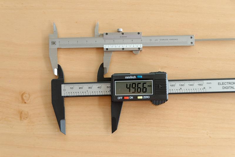 内径測定ではマイナス0.34mm