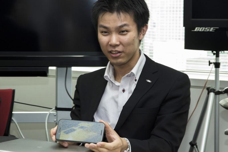 佐藤雄一氏(シャープ IoT通信事業本部 パーソナル通信事業部 システム開発部)