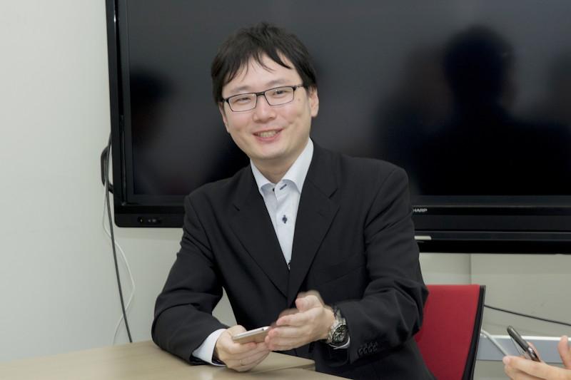 田嶋健吾氏(シャープ IoT通信事業本部 パーソナル通信事業部 第一ソフト開発部 技師)
